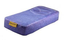 N/V zitje bagagedrager 32x15x5cm, jeans