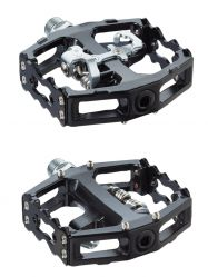 TecoraE pedal Clipless Combi, ATB, black