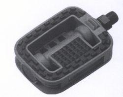 TecoraE pedal Non-slip 2K, Sport, black