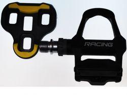 TecoraE pedal set KEO Clipless (Look Keo compatible), Race, black
