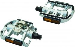 """TecoraE pedal set SPD one-sided, Combi 9/16"""", CP"""