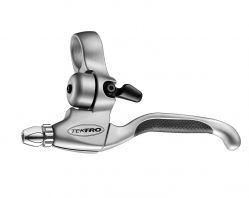 Tektro brake lever (pair), model CL530-RS with bell, black