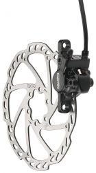 Tektro brake set (front wheel), model Gemini HD-M5xx, black
