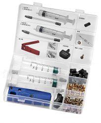 Tektro service-kit containing: mineral oil,syringe ed