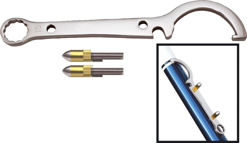 cyclus fixie conusring asmoersleutel 15mm incl 2 bouten