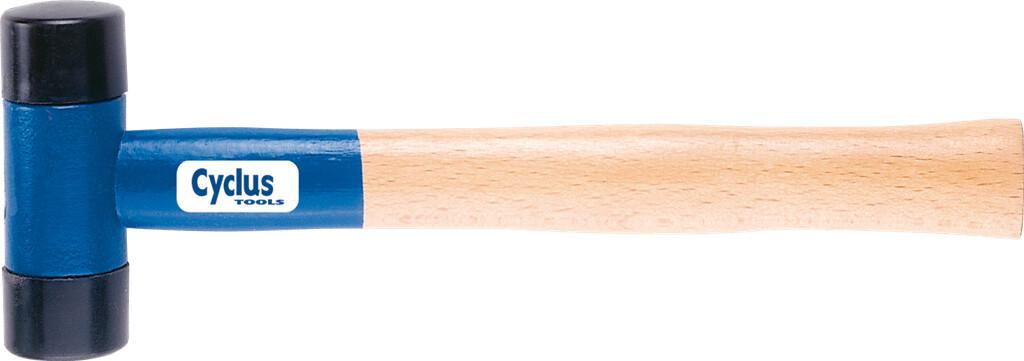 cyclus rubber hamer 410gr houten steel l280mm