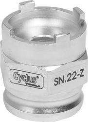 Cyclus snap.in afnemer freewheel SN.22-Z Rohloff (opsteek)