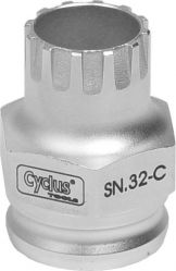 Cyclus Snap.In afnemer pion SN.32-C Shimano (opst)