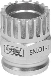 Cyclus snap.in afnemer trapas SN.01-I Shimano compact