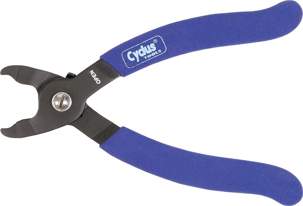 cyclus tang miss link openen kettingschakels blauw handvat