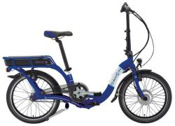 Dahon vouwfiets Ciao Ei7 electric, blauw