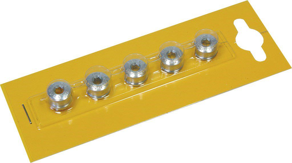 gebhardt afstandsring aluminium 16mmx27mm per 5