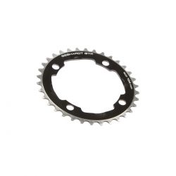 Gebhardt chainring Classic, BCD 104 mm, 4-hole 38T, black
