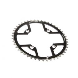 Gebhardt chainring Classic, BCD 104 mm, 4-hole 42T, black
