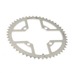 Gebhardt chainring Classic, BCD 104 mm, 4-hole 43T, silver