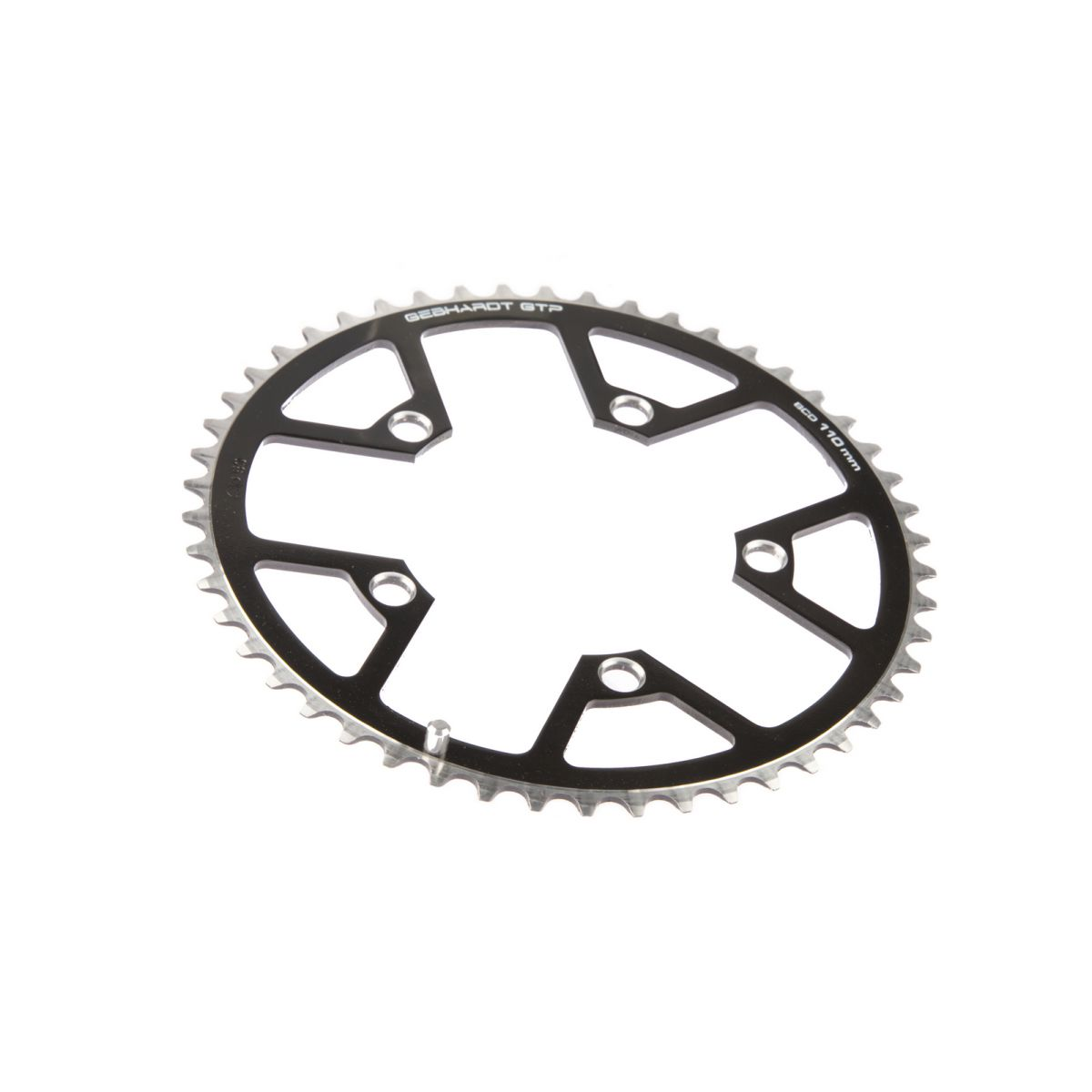 gebhardt chainring classic bcd 110 mm 5hole 44t black