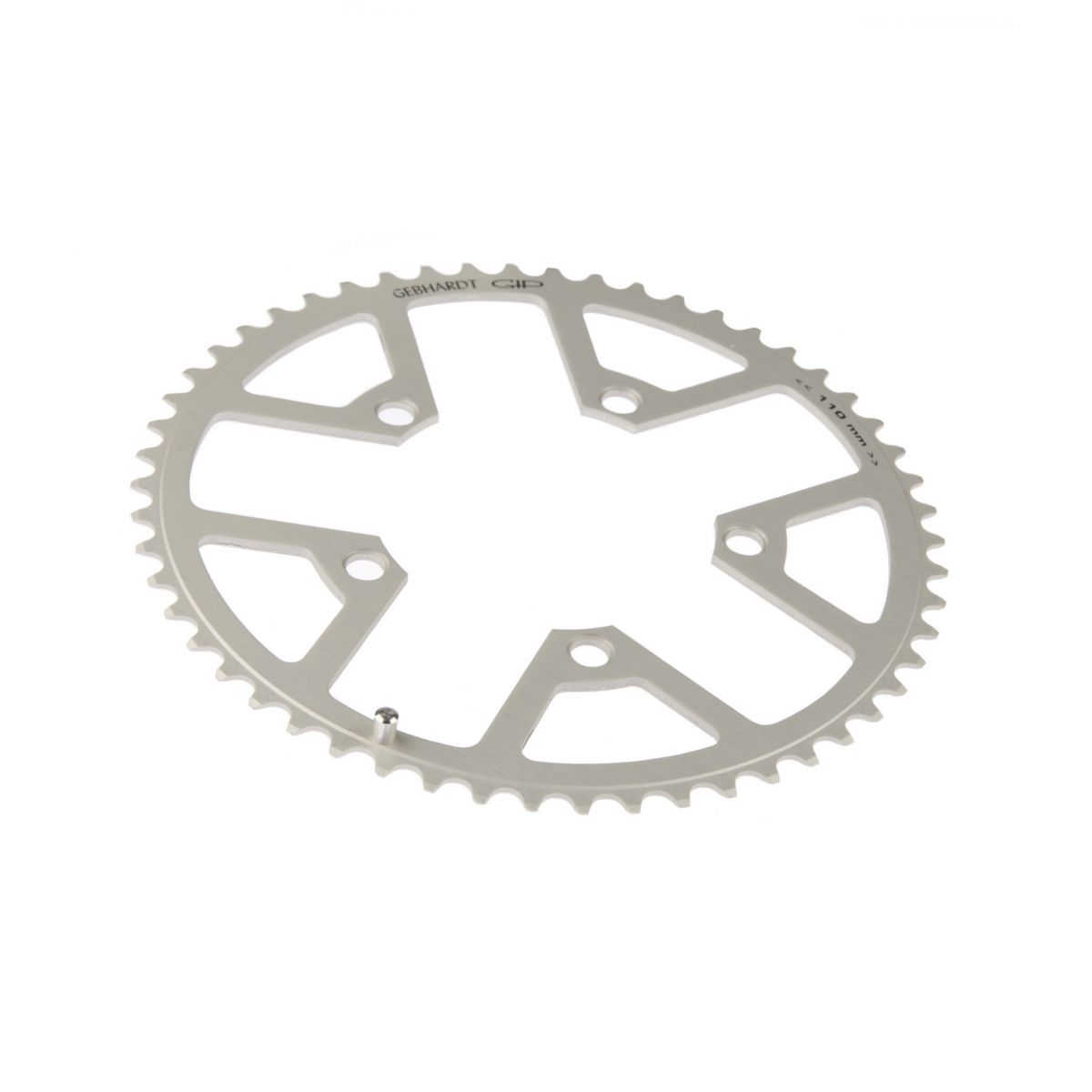 gebhardt chainring classic bcd 110 mm 5hole 50t silver