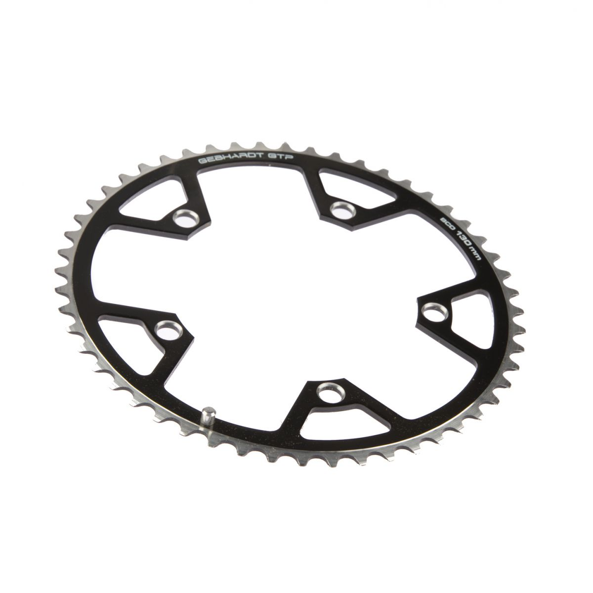 gebhardt chainring classic bcd 130 mm 5hole 47t black
