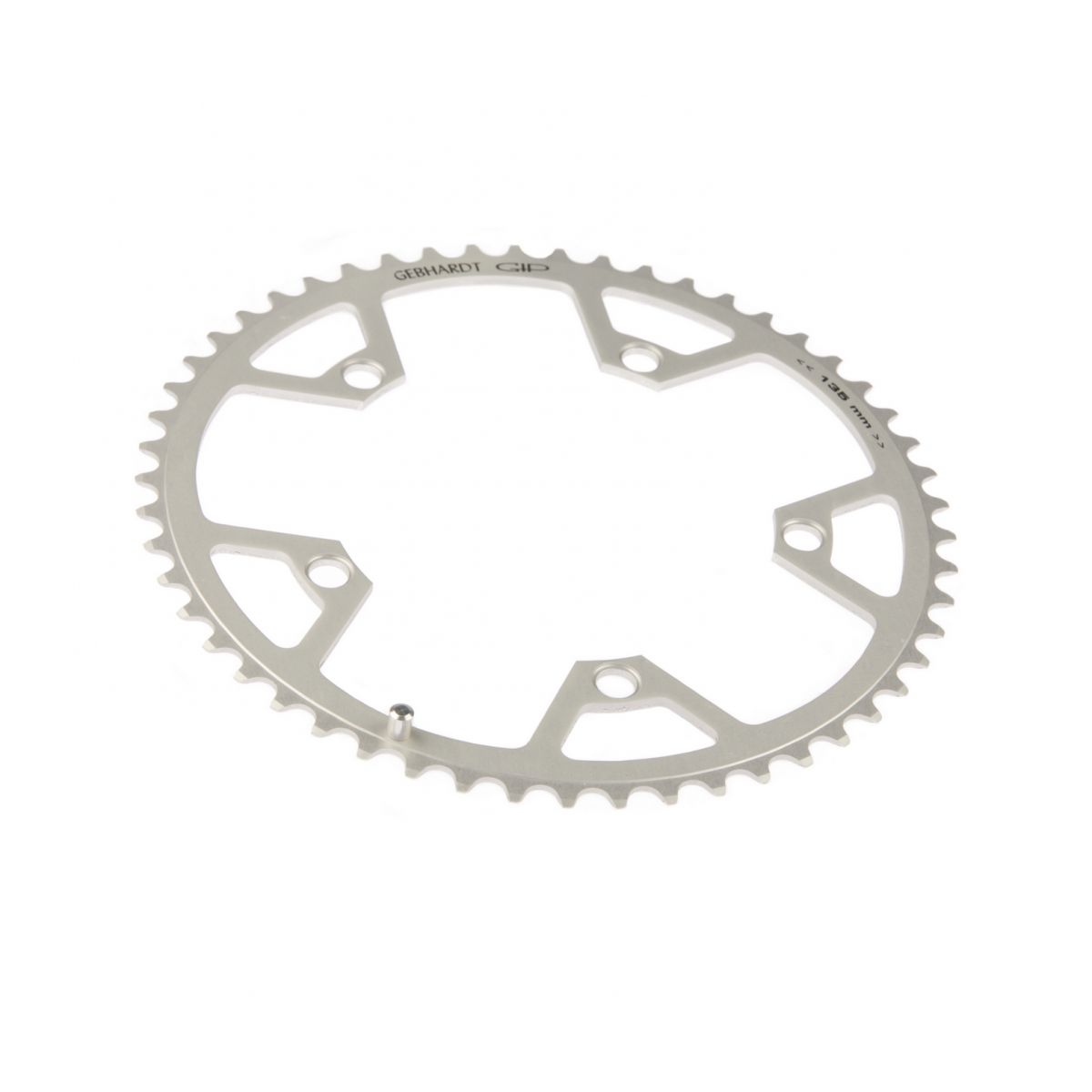 gebhardt chainring classic bcd 135 mm 5hole 46t silver