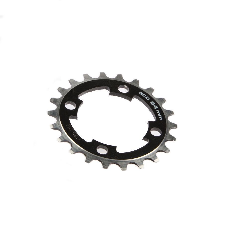 gebhardt chainring classic bcd 64 mm 4hole 22t black