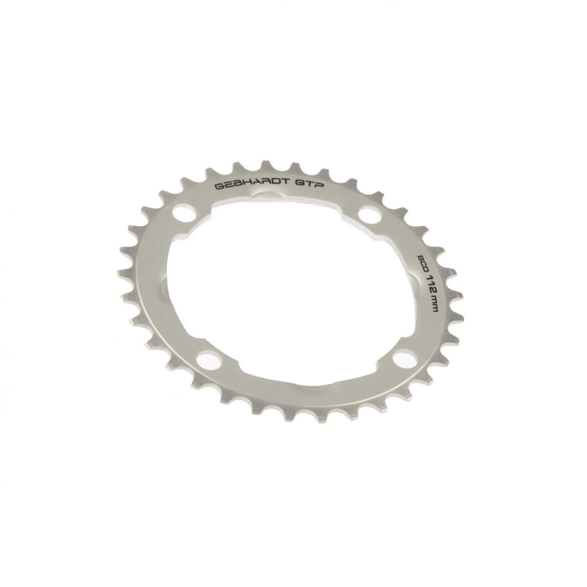 gebhardt chainring cnc ultra torque nexave bcd 112 mm 4hole 34t silver