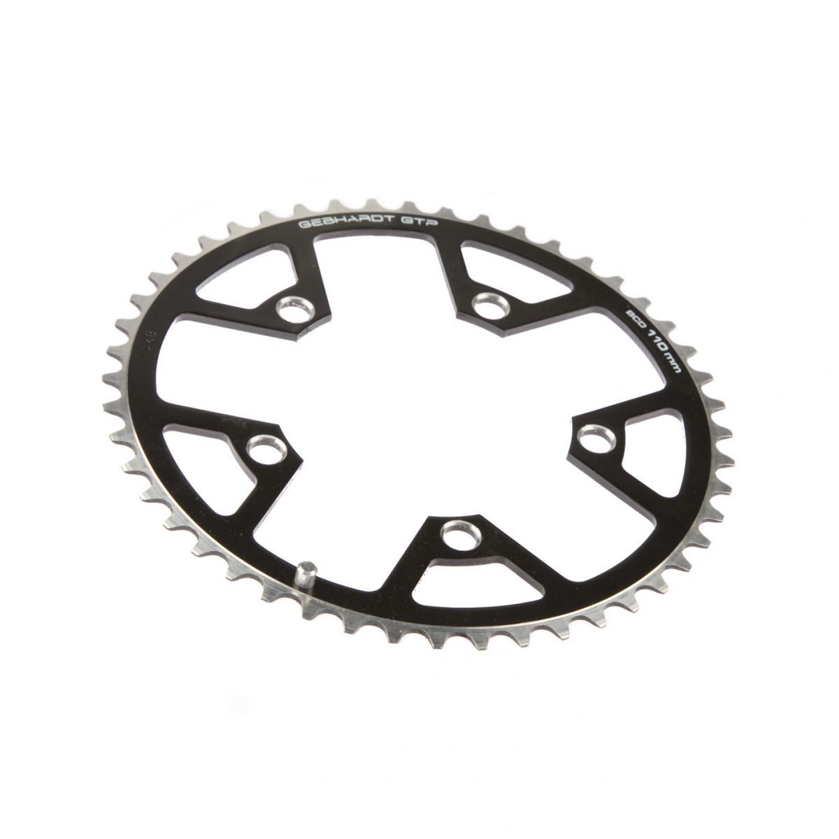 gebhardt chainring cover rock ring classic bcd 110 mm 5hole 48t black