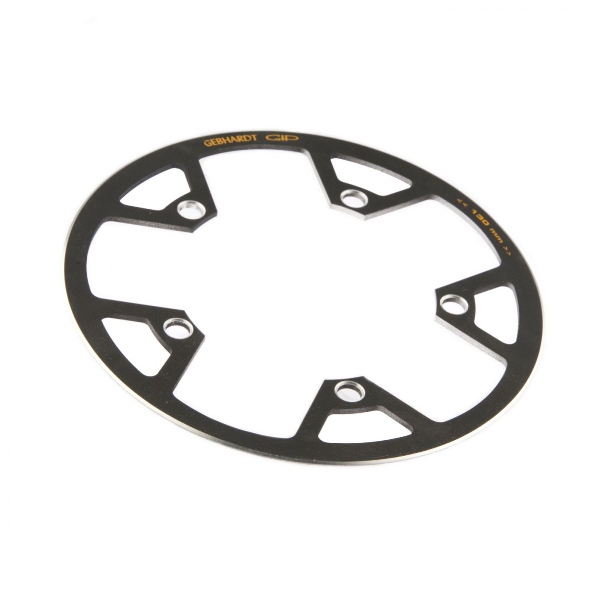 gebhardt chainring cover rock ring classic bcd 130 mm 5hole 48t black