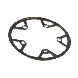 Gebhardt chainring cover rock Ring Classic, BCD 130 mm, 5-hole 48T, black