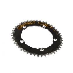 Gebhardt chainring track, BCD 130 mm, 5-hole 46T, black