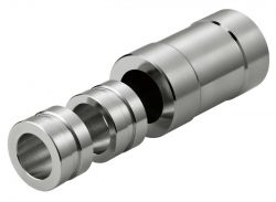 "Hozan crown race installation tool C-435, 1""~1.1/4"" 3-part, silver"