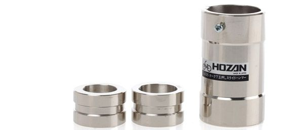 hozan crown race installation tool c435 1114 3part silver