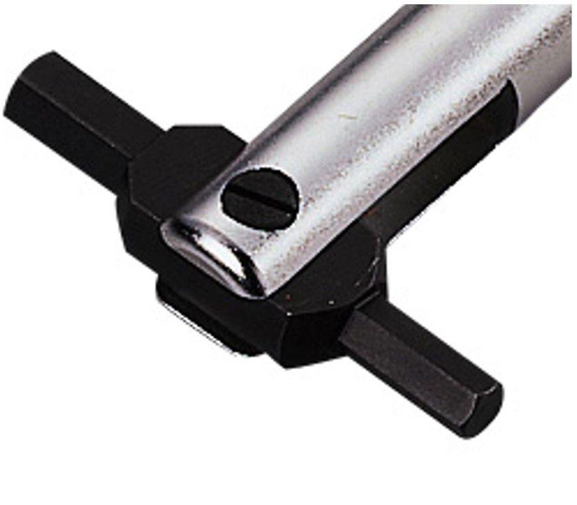 hozan hexboutje c0752 2zijdig 6x8mm zwart