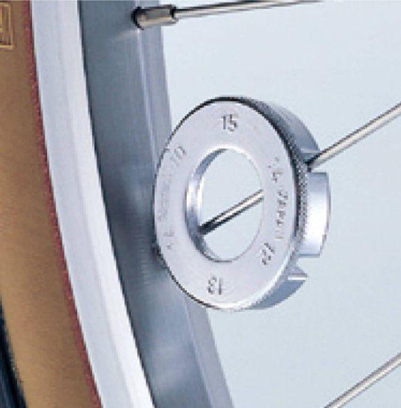 hozan nippelspanner c120 1015g 41mm zilver