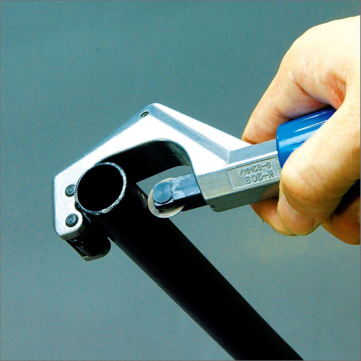 hozan pipe cutter k203 hss 332mm blue