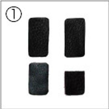 hozan reservepads c4511 voor vorkuitzetter voor c451 zwart