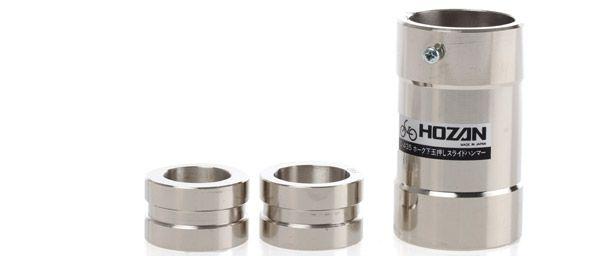 hozan vorkconus slaggereedschap c435 1114 3delig zilver
