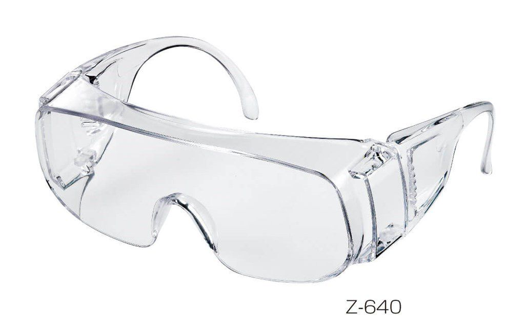 hozan z640 veiligheidsbril transparant
