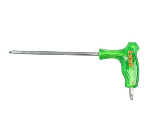 icetoolz allen keys 7t twinhead with handle t30 green