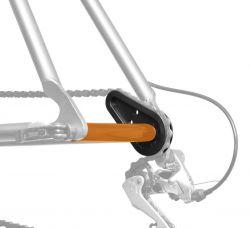 IceToolz auxiliary axis 30C1, ChainMaster, orange