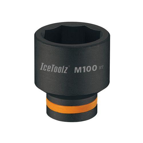 icetoolz balhoofdsleutel m100 30mm zwart