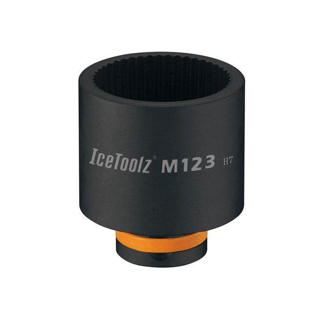 icetoolz balhoofdsleutel m123 43mm zwart