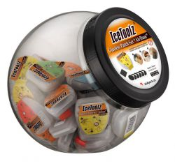 IceToolz band plaster 56J5, AirDam self-adhesive 50 sets #56P6 in jar, assorted