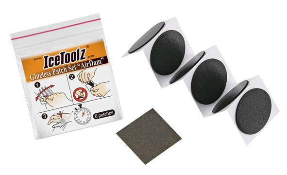 icetoolz band plaster airdam selfadhesive 6 pieces black