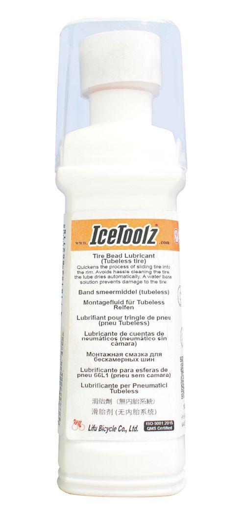 icetoolz bandenmontage smeermiddel tubeless banden wit