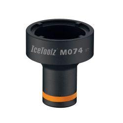 IceToolz BB installation tool M074, 4-notch, black
