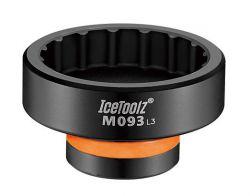 IceToolz BB installation tool M093, black