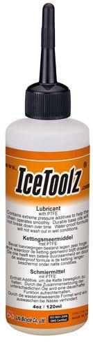 icetoolz bicycle chain grease c141 with teflon 4oz120ml orange