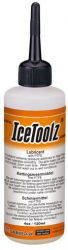 IceToolz bicycle chain grease C141, with Teflon 4oz•/120ml, orange