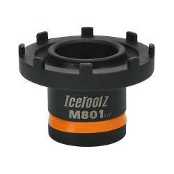 IceToolz borgring afnemer M801 Bosch Active, zwart