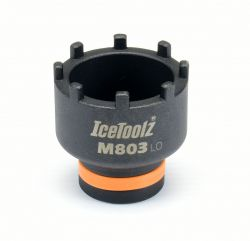 IceToolz borgring afnemer M803 Bosch Gen.4, zwart